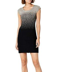 Desigual - Heather Woman Flat Knitted Short Sleeve Dress - Lyst