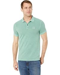 11eb1897 BOSS Polo T-shirt in Blue for Men - Lyst