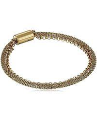 Fossil - S Mesh Bracelet - Lyst