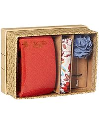 Original Penguin - Messner 3-piece Solid Tie, Pocket Square & Lapel Pin Box - Lyst