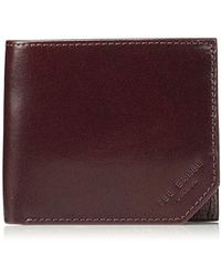 06e7732cf9c8 Lyst - Ted Baker Spidey Leather Wallet in Red for Men