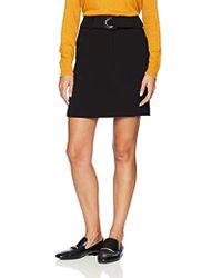 f5def670f321 Armani Exchange - | Belted Mini Pencil Skirt - Lyst