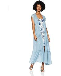Betsey Johnson - Prairie Girl Sleeveless Duster - Lyst