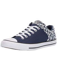 Converse - Unisex Chuck Taylor All Star Street Wordmark Low Top Sneaker -  Lyst 929a220aa