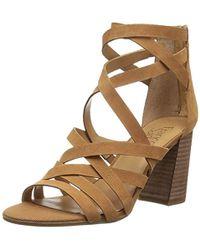 Franco Sarto - Madrid Criss-cross Strappy Sandals - Lyst