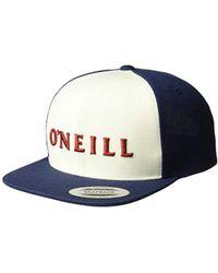 new styles 0e160 ee7db O neill Sportswear - Prevail Snapback Hat - Lyst