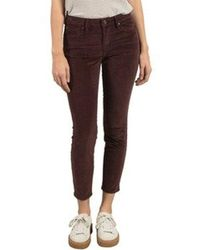 Volcom - Super Stoned Skinny Fit Ankle Denim Pant - Lyst