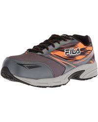 huge discount ead80 82030 Fila -  s Memory Meiera 2 Slip Resistant And Composite Toe Work Shoe - Lyst