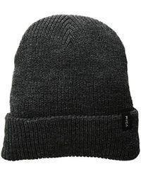 17b1d542 Billabong Men's Marled Knit Beanie in Black for Men - Lyst