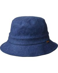 083d48a7363b7 Lyst - Betmar Quilted Bucket Hat in Blue for Men