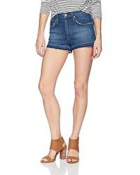 James Jeans - Marlo High Rise Mom Shorts In Retrospect - Lyst