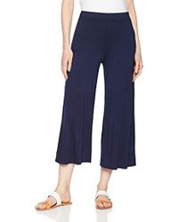 Three Dots - Refined Jersey Loose Long Pant - Lyst