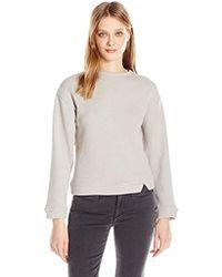Dolce Vita - Grace Fringe Drop Sweater - Lyst