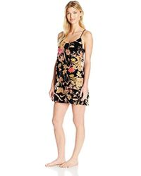 5948b228c9f1c Lyst - Ted Baker Deony Bodycon Dress In Tapestry Floral Print in Black