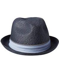 ab3c1b50fc039 Lyst - Original Penguin Straw Porkpie Hat for Men
