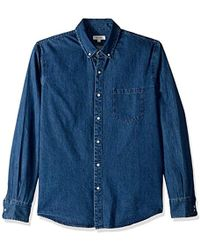 DL1961 - Hudson & Perry Slim Shirt - Lyst