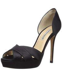 a7390fa3256 Lyst - Kors by Michael Kors Kimber Platform Sandal in Black