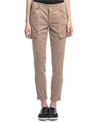c40d5ecf64384 Lyst - J Brand Houlihan Skinny Cargo Jeans In Distressed Caledon in ...