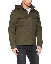 Calvin Klein - Spring Anorak Jacket With Pocket Detail - Lyst