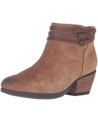 66fdaefce59a Lyst - Tory Burch Siena Bootie in Brown