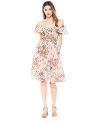 Rebecca Taylor - Sleeveless Marlena Ruffle Dress - Lyst