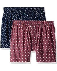 Tommy Bahama - 2 Pack Printed Woven Boxer Short Set - Lyst