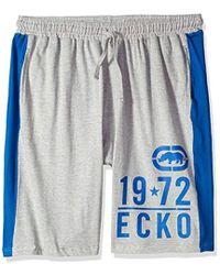 Ecko' Unltd - Ecko Unlimited Drawstring Knit Short - Lyst