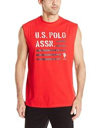 U.S. POLO ASSN. - Classic Muscle T-shirt - Lyst