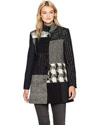 Desigual - Rosita Woman Woven Overcoat - Lyst