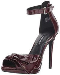 Nine West - Bellen Synthetic Heeled Sandal - Lyst