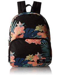 bc2594480fb Roxy - Always Core Backpack (true Black Uluwatu) Backpack Bags - Lyst