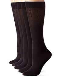 Calvin Klein - 5 Pair Microfiber Trouser, - Lyst