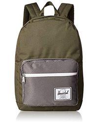 Lyst - Herschel Supply Co. Pop Quiz Backpack in Black for Men 33dfd2df1909b
