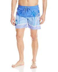 d337cda921 Quiksilver Miami Heat Board Shorts in Black for Men - Lyst