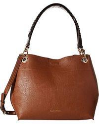 Calvin Klein - Reversible Novelty Hobo Bag - Lyst
