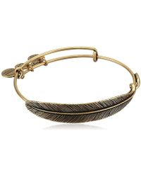 ALEX AND ANI - S Quill Feather Bangle - Lyst