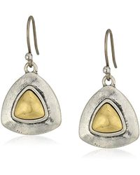 Lucky Brand - S Drop Earrings - Lyst