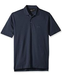 fdee1f23 Armani Exchange - | Short-sleeved Cotton Jersey Clssic Button Collr Polo  Shirt - Lyst