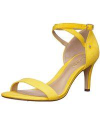 e7757bbdf44a Lauren by Ralph Lauren - Glinda Heeled Sandal - Lyst
