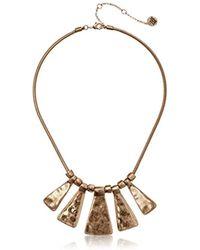 The Sak - Paddle Collar Necklace - Lyst
