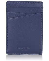Buxton - Addison Rfid Blocking Leather Front Pocket Money Clip Wallet - Lyst