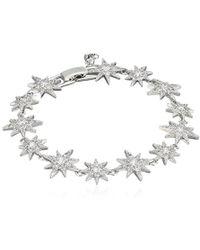 "Betsey Johnson - ""betsey Blue Pave Star Tennis Bracelet - Lyst"