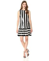 Betsey Johnson - Sequin Striped Dress - Lyst