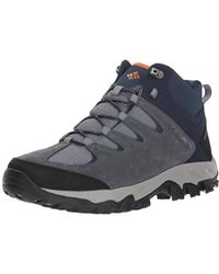 Lyst - Columbia Buxton Peak Mid Waterproof Wide Hiking Boot in Brown ... 1422c15a00