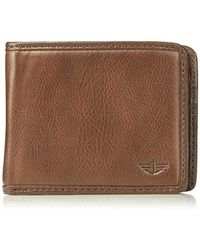Dockers - Rfid Blocking Extra Capacity Leather Bifold Wallet - Lyst