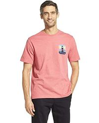 Izod - Short Sleeve Graphic T-shirt - Lyst