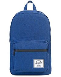 4293e9a33be2 Lyst - Herschel Supply Co. Pop Quiz Chambray Backpack in Blue for Men