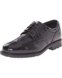 Rockport - Essential Details Waterproof Wingtip Oxford Shoe - Lyst
