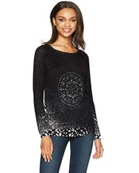Desigual - Jers_pullover Jumper - Lyst