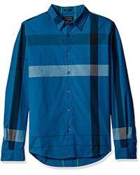 Guess - Canyon Plaid Shirt - Lyst